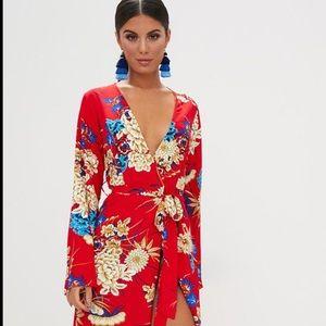 Kimono Wrap Dress - NWT!